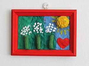 Делаем яркую мозаику из макарон. Арт-проект для детей. Ярмарка Мастеров - ручная работа, handmade.