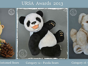 Мои тедди на URSA Awards 2013 | Ярмарка Мастеров - ручная работа, handmade