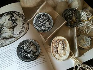 Новая античная коллекция брошей - в магазине | Ярмарка Мастеров - ручная работа, handmade