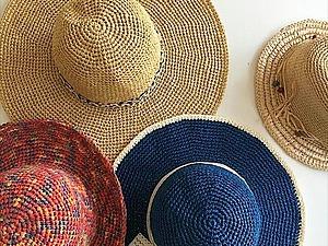 Шляпа из рафии - секреты и хитрости. | Ярмарка Мастеров - ручная работа, handmade