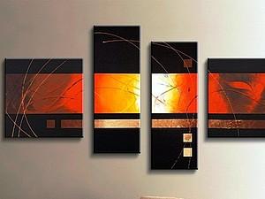 Картины абстракция для интерьера   Ярмарка Мастеров - ручная работа, handmade