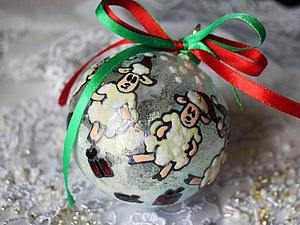 Создаем новогодний шар