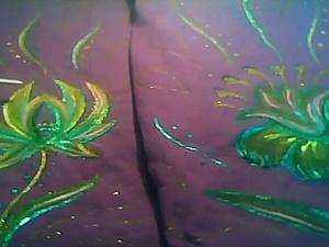 Видео мастер-класс: как легко и просто сделать роспись по ткани. Ярмарка Мастеров - ручная работа, handmade.