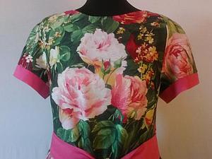 Хотите такое платье бесплатно? | Ярмарка Мастеров - ручная работа, handmade