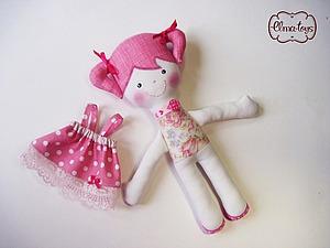 Видео мастер-класс: игровая кукла со съемной одеждой. Ярмарка Мастеров - ручная работа, handmade.