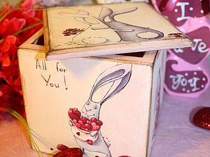 К Дню Святого Валентина! | Ярмарка Мастеров - ручная работа, handmade