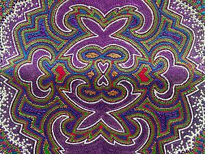 Мастер-класс: точечная роспись обложки для паспорта «Турецкий ковер». Ярмарка Мастеров - ручная работа, handmade.