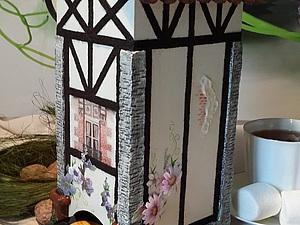 Чайный домик в стиле фахверк | Ярмарка Мастеров - ручная работа, handmade