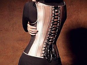 Польза ношения корсета | Ярмарка Мастеров - ручная работа, handmade
