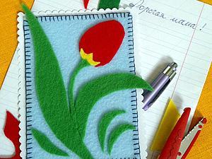 Открытка для мамы   Ярмарка Мастеров - ручная работа, handmade