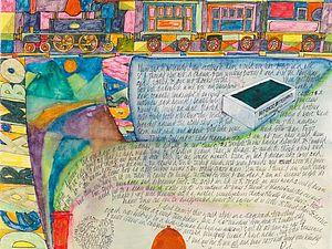 Удивительные иллюстрированные письма Перси Келли. Ярмарка Мастеров - ручная работа, handmade.