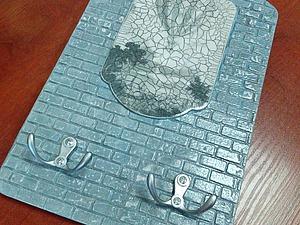 Мастерим ключницу «Старая стена». Ярмарка Мастеров - ручная работа, handmade.