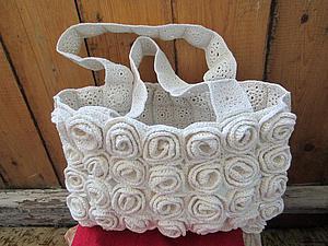 Вязание сумок из полиэтиленовых пакетов
