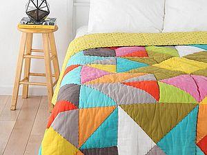 Пэчворк в интерьере: разнообразие лоскутных одеял | Ярмарка Мастеров - ручная работа, handmade