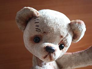 Винтажный мишка -образ.. Ярмарка Мастеров - ручная работа, handmade.