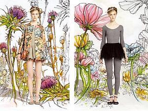 Балерины и цветы от Валентино   Ярмарка Мастеров - ручная работа, handmade