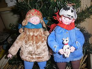 Игрушки для новогодних праздников | Ярмарка Мастеров - ручная работа, handmade