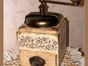 реставрация кофемолки | Ярмарка Мастеров - ручная работа, handmade