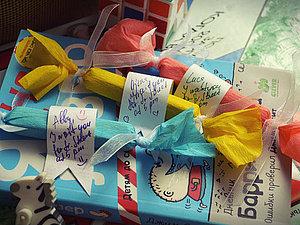 «Безуглеводная конфета»: делаем приглашение на детскую вечеринку. Ярмарка Мастеров - ручная работа, handmade.