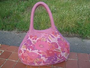 Объемная сумка с Натальей Гамолиной | Ярмарка Мастеров - ручная работа, handmade