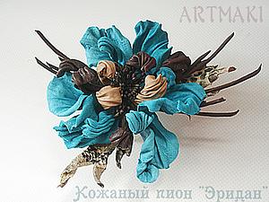 Новый курс кожаных цветов в августе | Ярмарка Мастеров - ручная работа, handmade