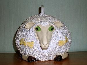 Овцешкатулка! Лепим из глины   Ярмарка Мастеров - ручная работа, handmade