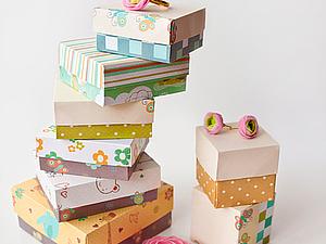 Подарочная коробка своими руками. Ярмарка Мастеров - ручная работа, handmade.
