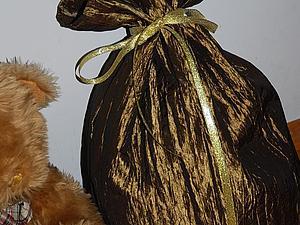 Золотые мешки Деда Мороза! | Ярмарка Мастеров - ручная работа, handmade