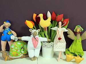 Игрушка Тильда своими руками. | Ярмарка Мастеров - ручная работа, handmade