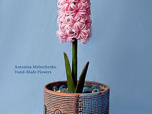 Цветы из холодного фарфора - Часть 2. Гиацинт. Подробный МК для начинающих | Ярмарка Мастеров - ручная работа, handmade
