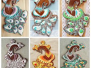 Пряничная Птица Счастья | Ярмарка Мастеров - ручная работа, handmade