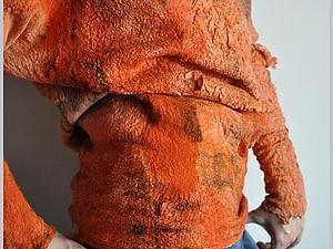 Мастер-шоу по авторской технике жатый шелк на примере свободного свитера с воротником. | Ярмарка Мастеров - ручная работа, handmade
