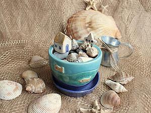 Маленькие игрушки большой девочки. Мой домик у моря. | Ярмарка Мастеров - ручная работа, handmade