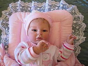 Малышка Маечка-3 - кукла реборн Инны Богдановой | Ярмарка Мастеров - ручная работа, handmade
