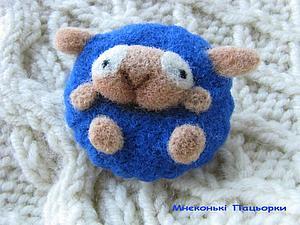 Милая овечка)   Ярмарка Мастеров - ручная работа, handmade