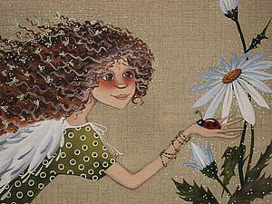 Там, где ангелы, там всегда свет. Картины Анны Черненко | Ярмарка Мастеров - ручная работа, handmade