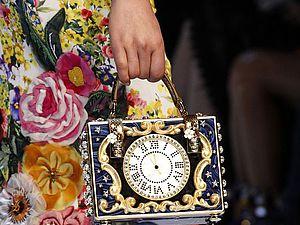 Внимание к деталям в коллекции «Fabulous Fantasy» Dolce&Gabbana осень-зима 2016/17. Ярмарка Мастеров - ручная работа, handmade.