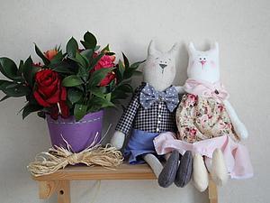 Шьем кота в стиле Тильда. Ярмарка Мастеров - ручная работа, handmade.