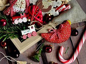С Новым Годом и наступающим Рождеством!   Ярмарка Мастеров - ручная работа, handmade