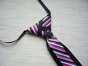 Видео мастер-класс: делаем галстук из репсовой ленты для юного джентльмена. Ярмарка Мастеров - ручная работа, handmade.