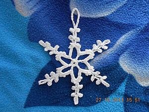 Снежинка   Ярмарка Мастеров - ручная работа, handmade