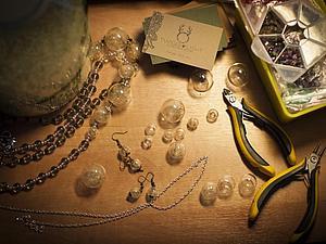 Процесс создания одуванчиковых бус:)   Ярмарка Мастеров - ручная работа, handmade