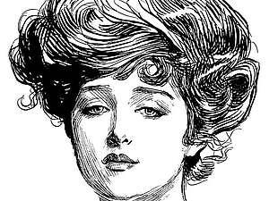Образы женской красоты. Девушки Гибсона.. Ярмарка Мастеров - ручная работа, handmade.
