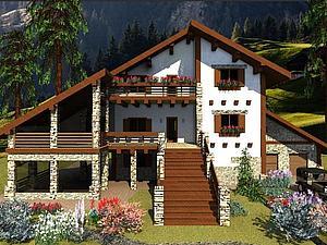 Рзработка дизайна фасада частного дома: этапы, варианты, стоимость | Ярмарка Мастеров - ручная работа, handmade