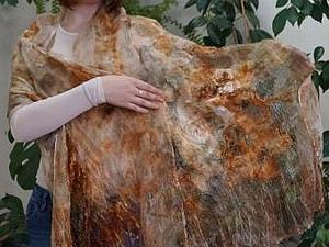 Растительное окрашивание и изготовление цветка из кожи. | Ярмарка Мастеров - ручная работа, handmade