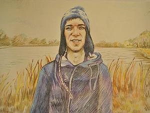 Цветные карандаши.портретики на заказ.А4 | Ярмарка Мастеров - ручная работа, handmade