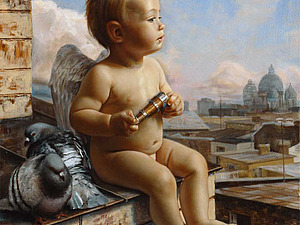 Благотворительный аукцион в помощь необычайному малышу Елисею | Ярмарка Мастеров - ручная работа, handmade