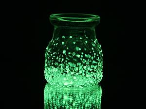Пример использования люминесцентной краски -