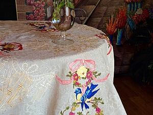 Все, что нужно знать о скатерти.... Ярмарка Мастеров - ручная работа, handmade.
