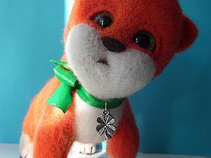 Создаем рыжего котенка Лаки в технике сухого валяния. Ярмарка Мастеров - ручная работа, handmade.